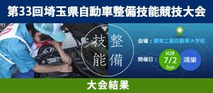 第33回埼玉県自動車整備競技大会 大会結果